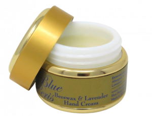 beeswax and lavender hand cream