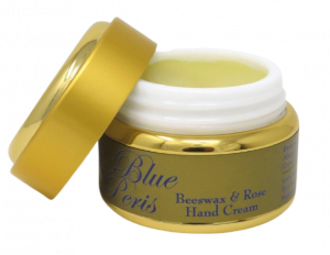 beeswax and rose hand cream