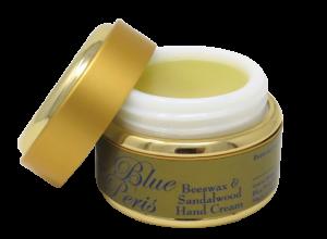 beeswax and sandalwood hand cream